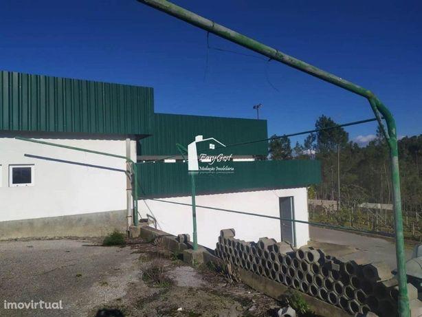 Armazém industrial localizado na zona Milreu, Vila de Rei .