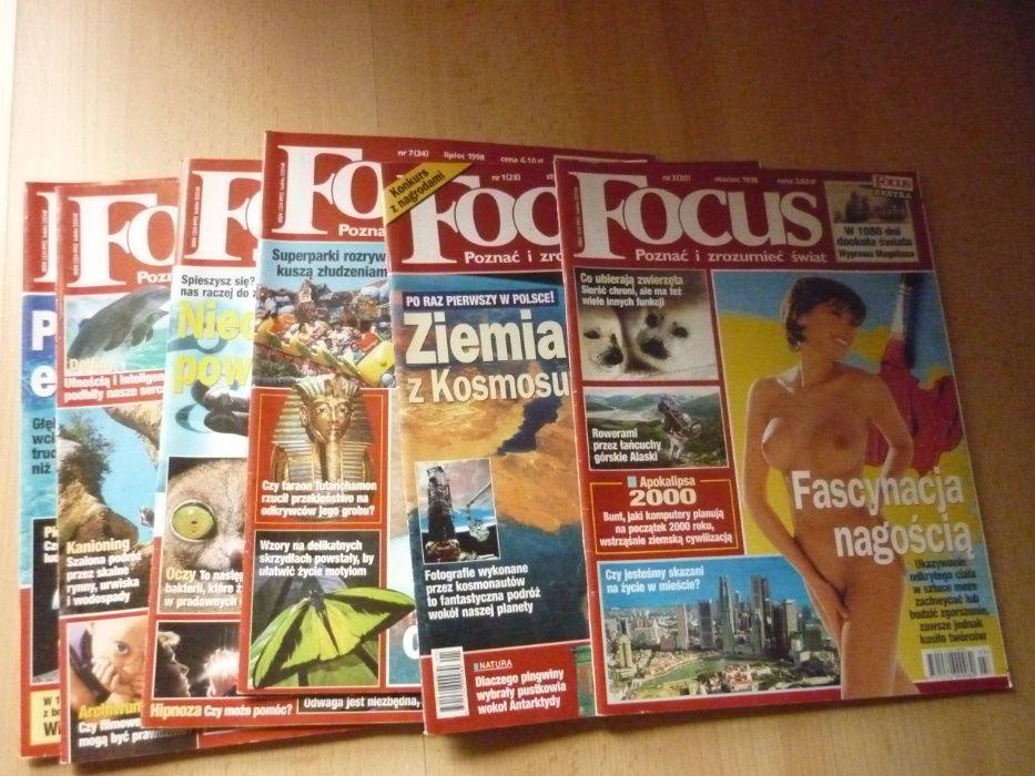 Czasopismo FOCUS 1998 zestaw 6x Kaliszany - image 1
