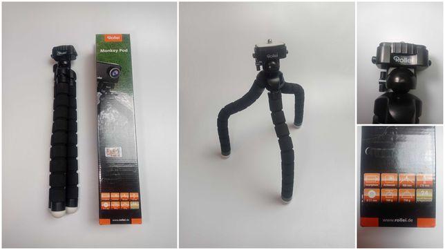 Rollei Monkey Pod - Tripod - 360 - Giętki statyw z elastycznymi nogami