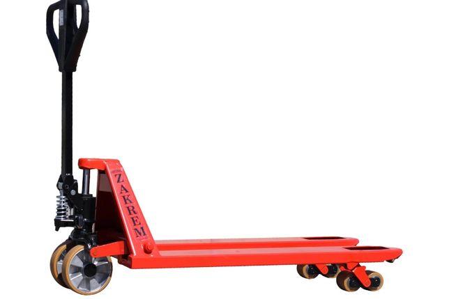 Ręczny wózek paletowy, paleciak 1150 mm, Zakrem, WRU4-2300 VTV