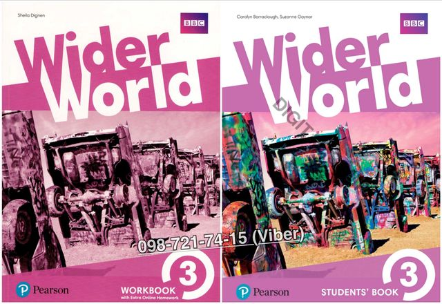 Wider World 3. Student's Book + Workbook (+CD)