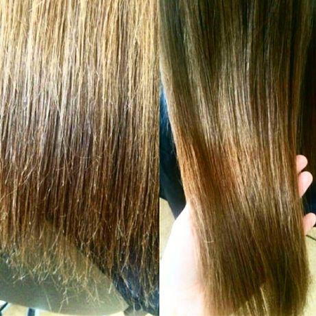 Полировка волос (удаление секущихся кончиков)