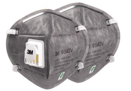 Maska maseczka przeciwwirusowa 3M FFP2 KN95 9541V z filtrem - na uszy