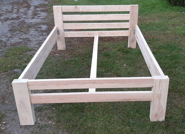NOWE. Łóżko drewniane JESIONOWE. Łóżko dwuosobowe.