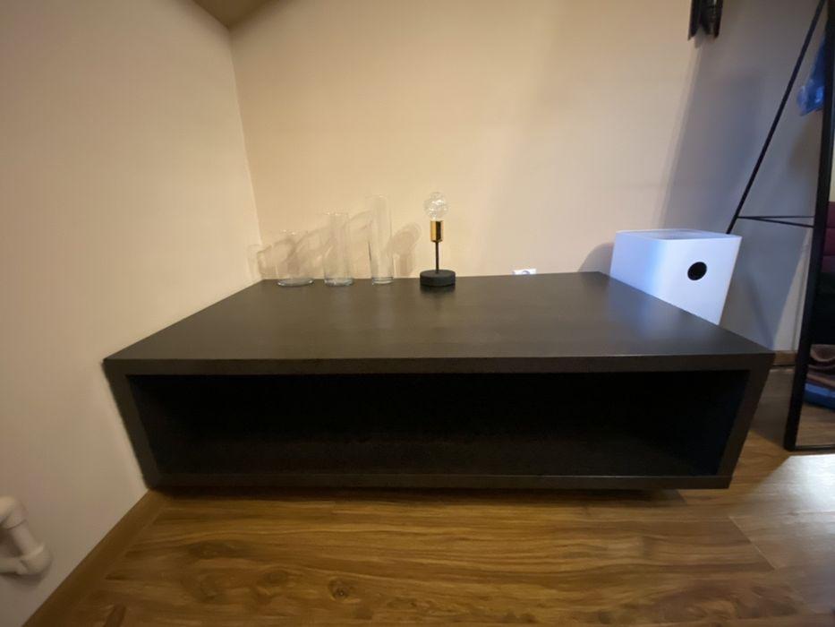 Szafka rtv pod TV komoda 120x65x38cm IKEA kolor ciemny orzech Warszawa - image 1