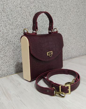 Сумка ручной работы, кожаная сумка, женская сумка