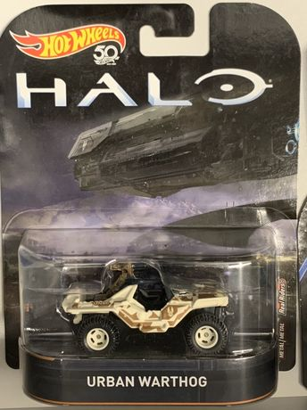 Hot wheels Halo Urban Warthog Real Riders