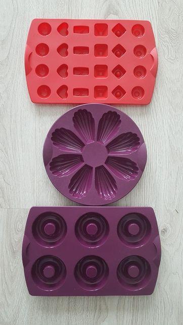 Tupperware formy silikonowe