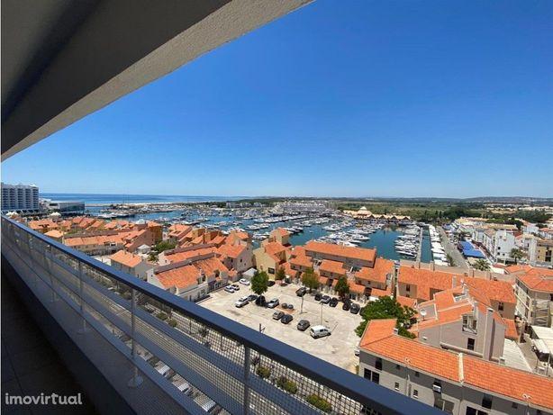 T1 mobilado com magnifica vista para Marina de Vilamoura