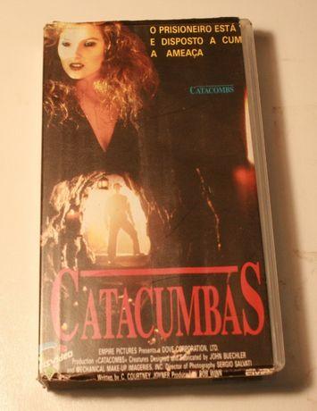 VHS - Filme - Catacumbas
