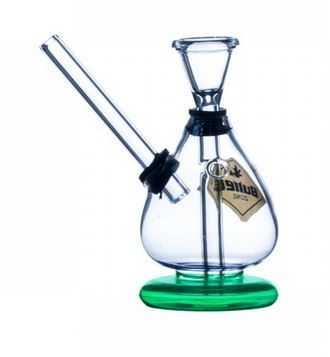 Bongo szklane H 12 cm Mobilne w plener , bańka . lufki , młynki