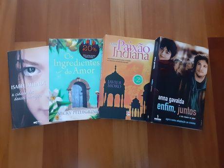 Pack 4 livros só 20€