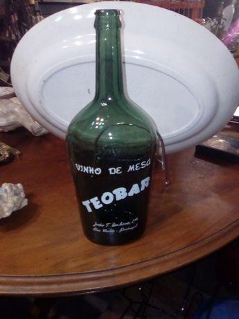 garrafa pirogravada