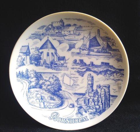 Сувенирная тарелка BORNHOLM
