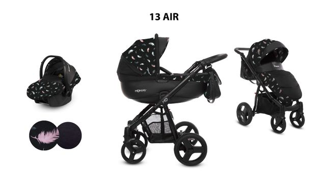 BABYACTIVE MOMMY SUMMER EDITION - wózek wielofunkcyjny 2w1