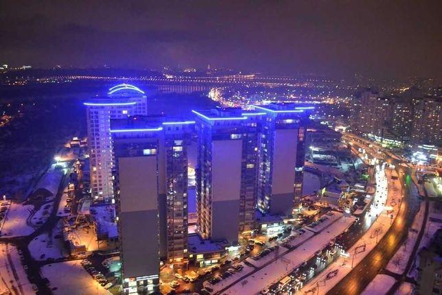 Общежитие в небоскребе на 36 этаже Киев Метро Осокорки 5 минут пешком