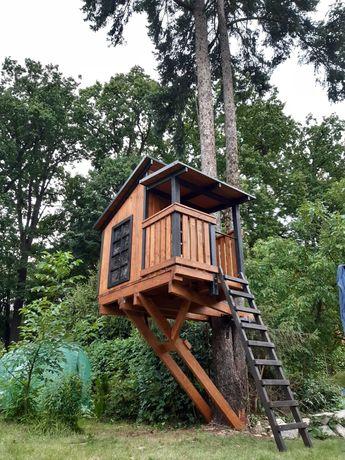 Domek na drzewie DND05 - domek drewniany - dla dzieci