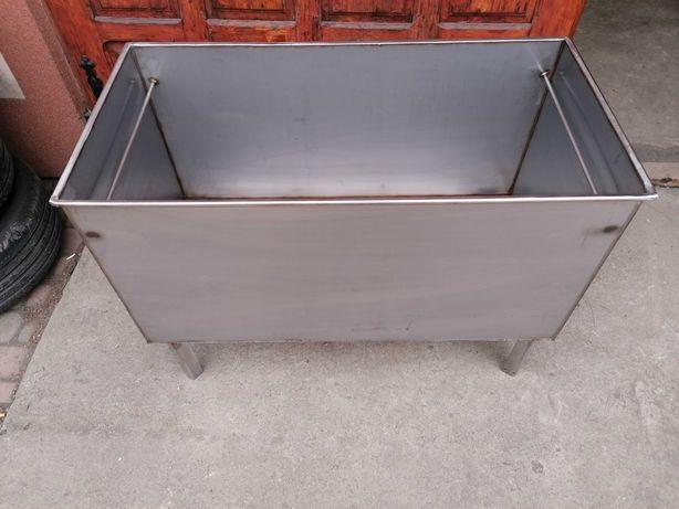 Wanna nierdzewna zbiornik do gotowania parzenia itd dno 3mm