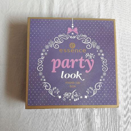 paleta z cieniami ESSENCE party look make-up box STAN IDEALNY!