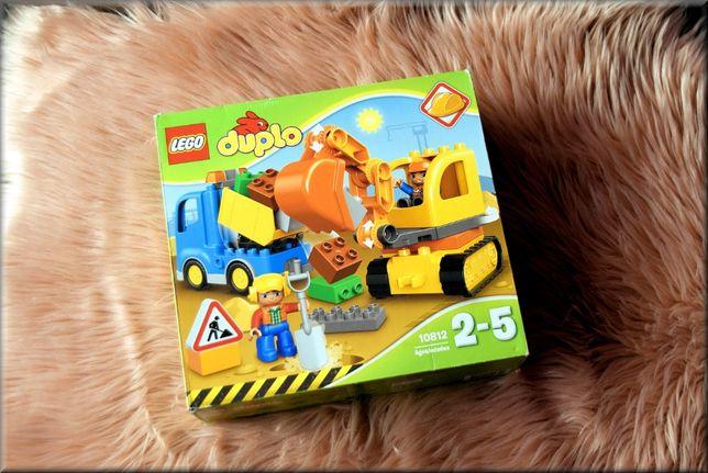 Lego duplo koparka i wywrotka, 2+ , 2-5