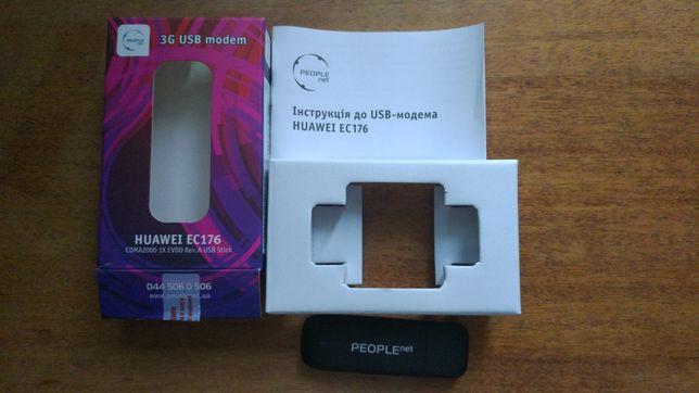 "3G Модем Huawei EC 176 PEOPLEnet + ПОДАРОК Набор ""Дерево в кристалах"