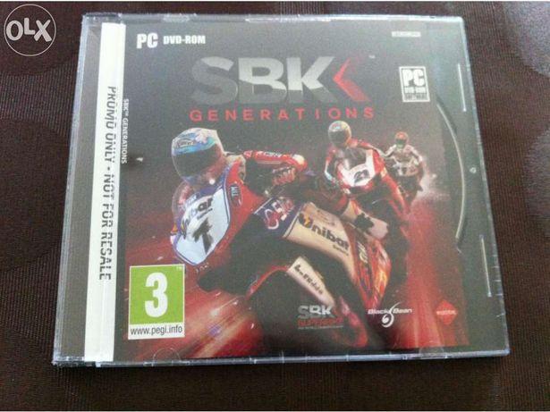 Sbk generations (jogo para pc, novo e selado)