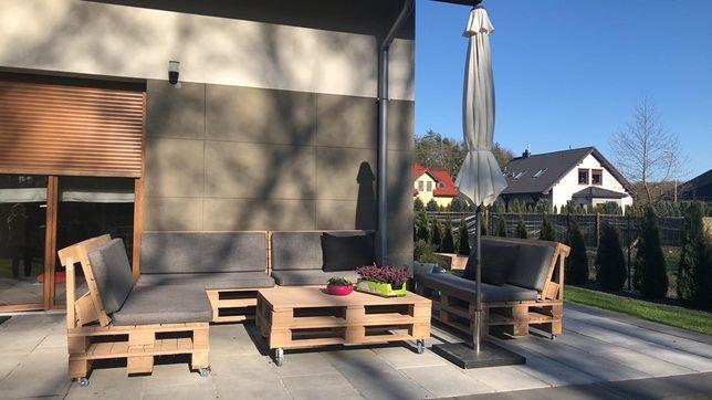Poduszki materace na meble ogrodowe KOMPLET 120x60 siedzisko + oparcie