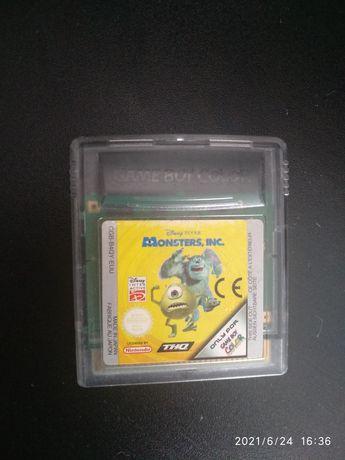 Jogo gameboy game boy monsters Inc pocket colour dmg 01 advance sp ds
