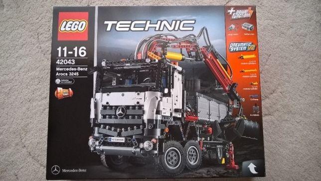 Lego 42043 puste kartony