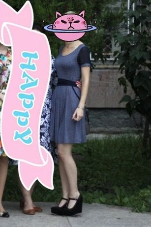 Лёгкое платье, размер от 42-48