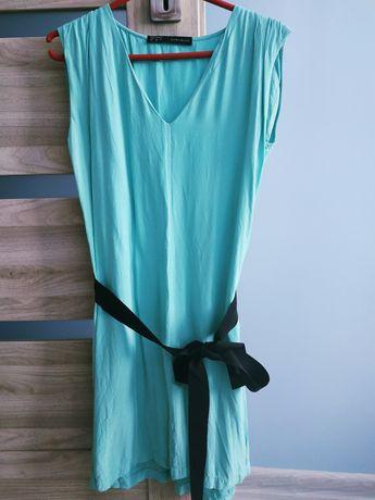 Sukienka turkusowa zara