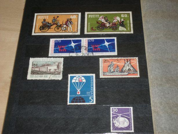 znaczki pocztowe wszystko co jeździ, pływa i lata