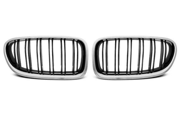Решетка радиатора (ноздри) BMW 5 F10 F11 М5 хром/глянец