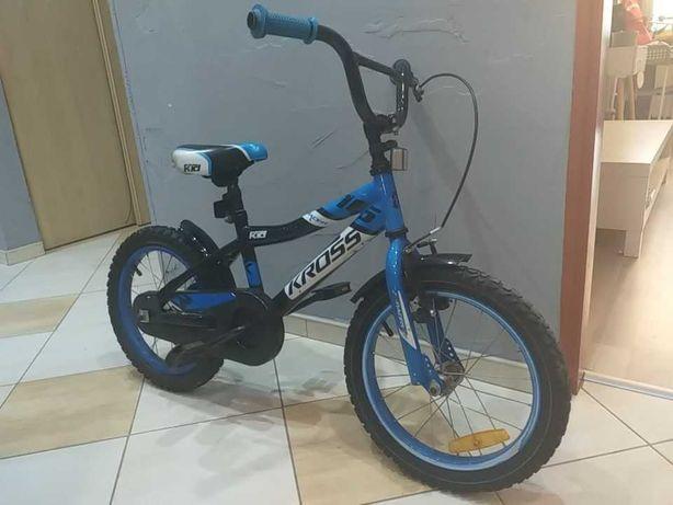 """Rower dziecięcy kross 16"""" bmx niebieski"""