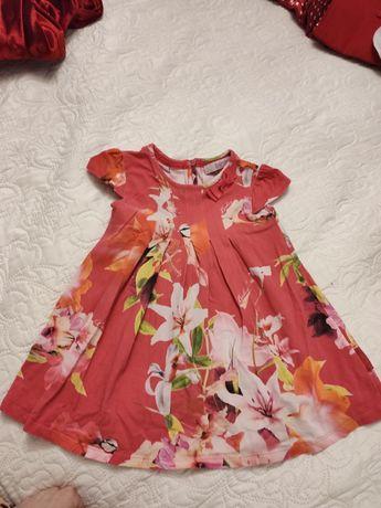 Śliczna sukienka dla dziewczynki od Ted Baker 18-24msc 92cm