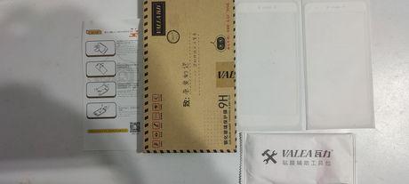Стекло VALEA на Xiaomi Redmi Note 4X Цвет белый 2 шт. в комплекте
