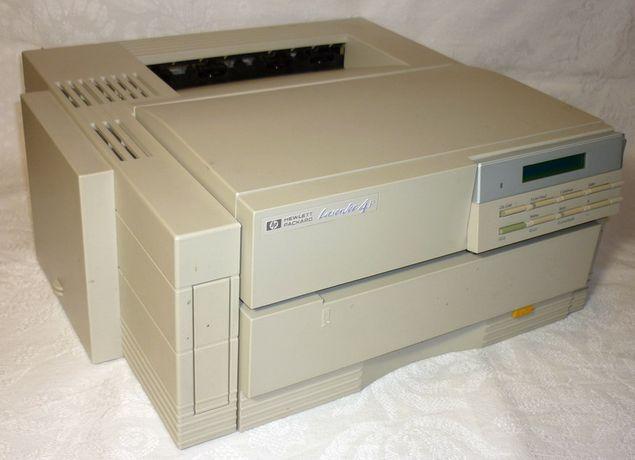 Уставший лазерный принтер HP LaserJet 4P + 92274A