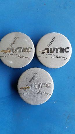 Oryginalne dekielki do felg aluminiowych Autec 3 sztuki