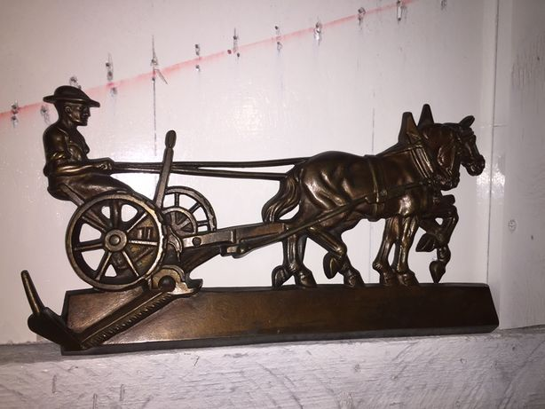 Старинный барельеф бронза Германия