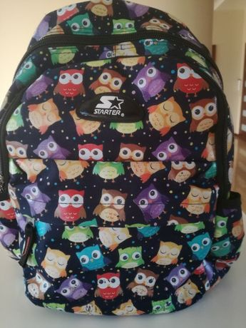 Plecak szkolny sowy