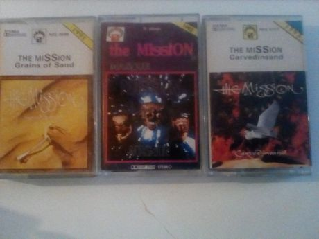 The Mission kasety magnetofonowe 3 szt