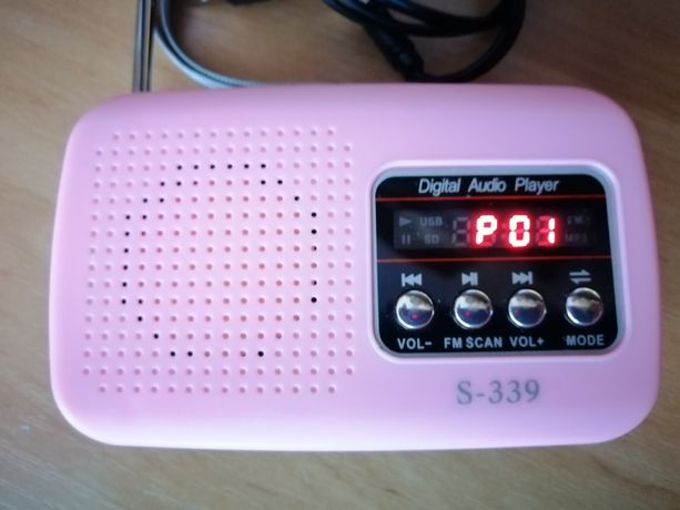 Mini Radio USB SD Card FM MP3 Player.