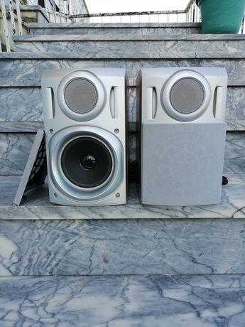 Colunas hi-fi cor cinzento