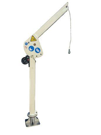 Żuraw żurawik ręczny obrotowy przenośny 125 kg - DS system