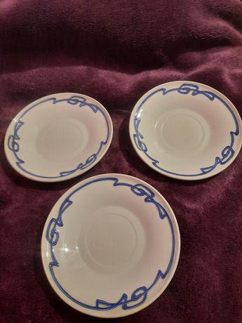 Stare spodki Podstawki Villeroy & Boch antyki kolekcje porcelana