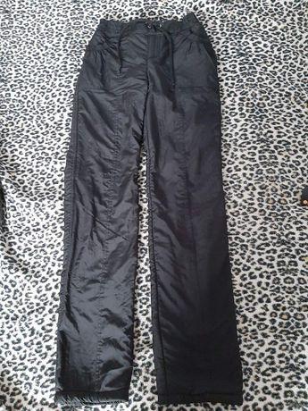 Теплые зимние штаны на флисе