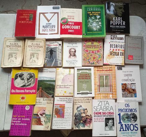 Livros diversos em bom estado à escolha