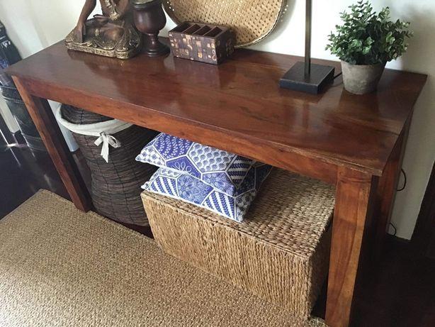 consola,  mesa, secretaria,  rustica,  indiana,  decoração
