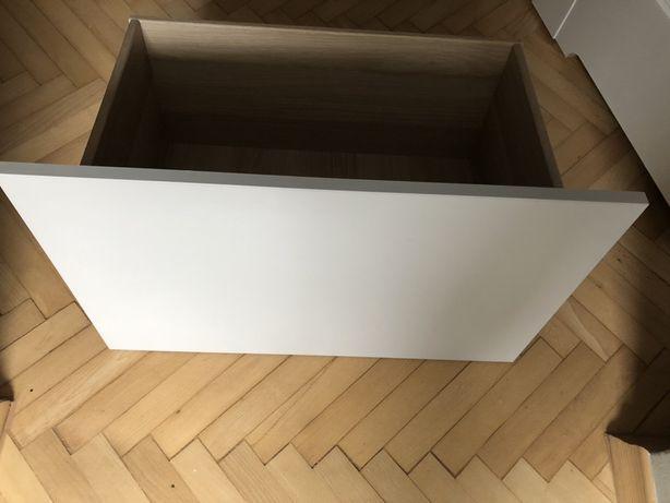 Szuflada Ikea Besta szary front