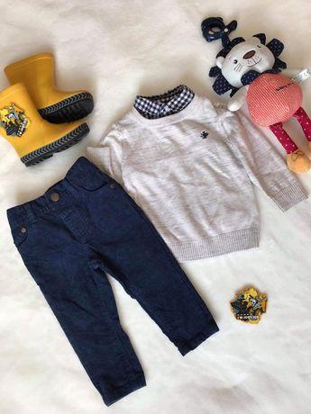 Комплект : Кофта, светр,штани